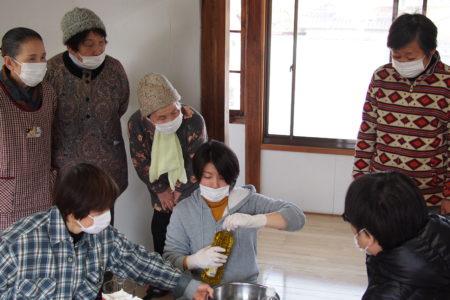 2月24日 石鹸作り体験開催しました